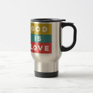 Caneca Térmica 1 4:8 de John - o deus é amor