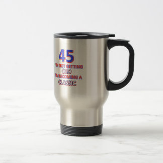 Caneca Térmica 45 designs do aniversário
