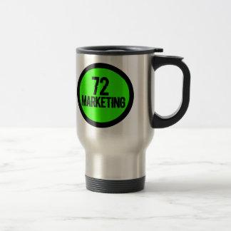 Caneca Térmica 72 copos isolados de aço inoxidável de mercado da