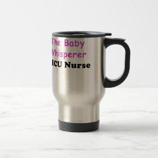 Caneca Térmica A enfermeira de Nicu do Whisperer do bebê