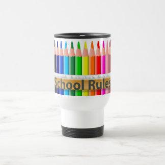 Caneca Térmica A escola ordena o copo da viagem ao trabalho dos