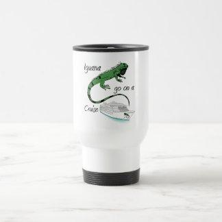 Caneca Térmica A iguana vai em um cruzeiro