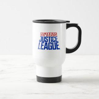 Caneca Térmica A liga de justiça | uniu-nos está gráfica