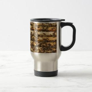 Caneca Térmica Abelhas do mel em toda parte