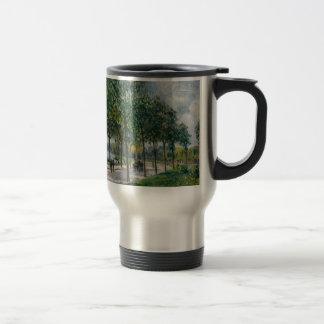 Caneca Térmica Allée de árvores de castanha - Alfred Sisley