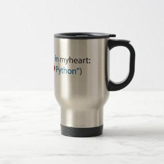 Caneca Térmica Amante do pitão amante - e do café