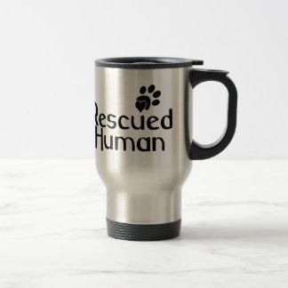 Caneca Térmica Amante humano salvado do cão