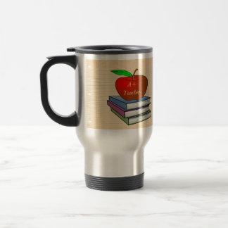 Caneca Térmica Apple do professor personalizado