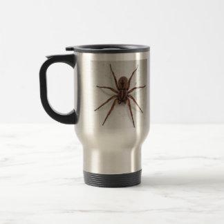Caneca Térmica aranha de vista scarygothic marrom grande
