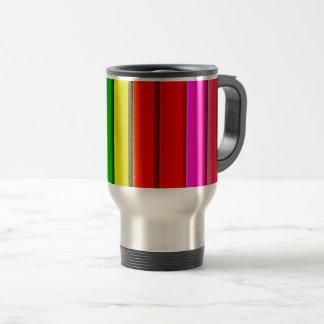 Caneca Térmica Arco-íris brilhante colorido