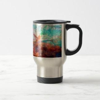 Caneca Térmica Arte subaquática de inspiração bonita da cena
