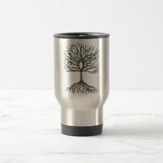 Caneca Térmica Árvore de Ankh do design da vida