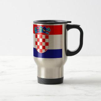 Caneca Térmica Baixo custo! Bandeira croata
