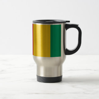 Caneca Térmica Baixo custo! Bandeira da Guiné