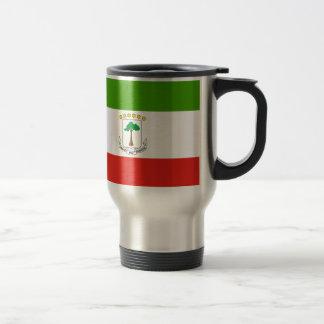 Caneca Térmica Baixo custo! Bandeira da Guiné Equatorial