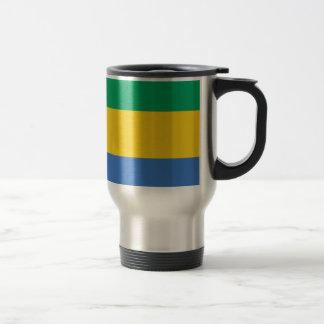 Caneca Térmica Baixo custo! Bandeira de Gabon