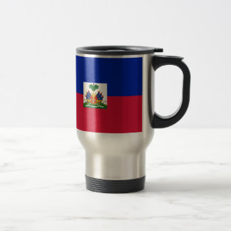 Caneca Térmica Baixo custo! Bandeira de Haiti