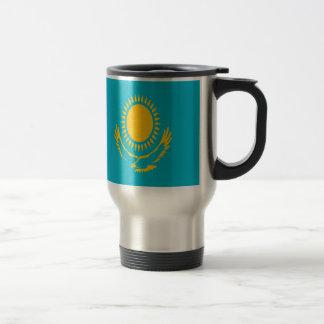 Caneca Térmica Baixo custo! Bandeira de Kazakhstan
