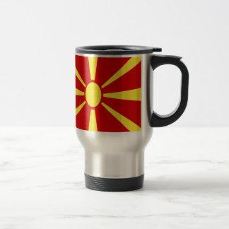 Caneca Térmica Baixo custo! Bandeira de Macedónia