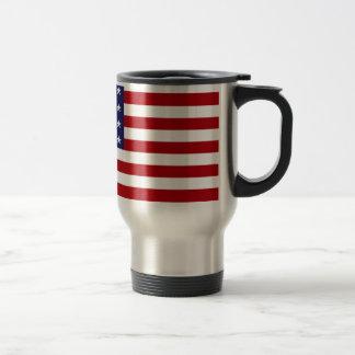 Caneca Térmica Bandeira americana - bandeira dos Estados Unidos -