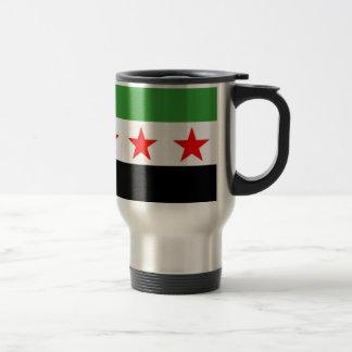 Caneca Térmica Bandeira da república de Syria