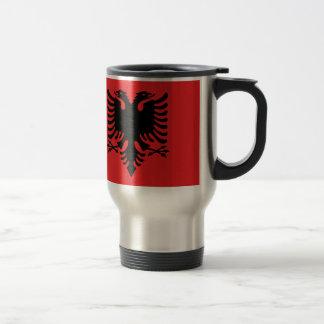 Caneca Térmica Bandeira de Albânia - Flamuri mim Shqipërisë