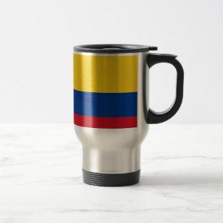 Caneca Térmica Bandeira de Colômbia - bandera de Colômbia
