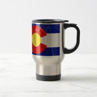 Caneca Térmica Bandeira de Colorado afligida