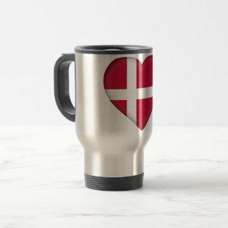 Caneca Térmica Bandeira de Dinamarca