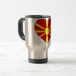 Caneca Térmica Bandeira de Macedónia