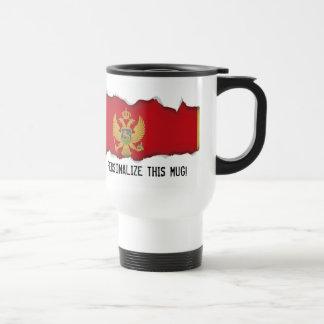 Caneca Térmica Bandeira de Montenegro
