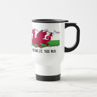 Caneca Térmica Bandeira de Wales
