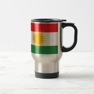 Caneca Térmica Bandeira do Curdistão; Curdo; Curdo