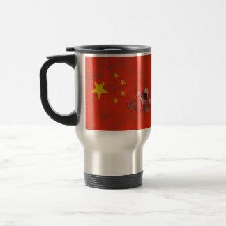 Caneca Térmica Bandeira e símbolos de China ID158