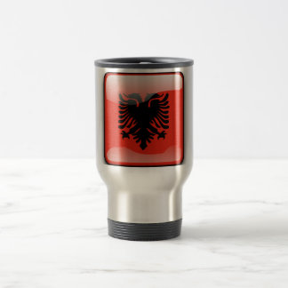 Caneca Térmica Bandeira lustrosa albanesa