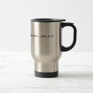 Caneca Térmica Beber dos poços de águas vivas… John…