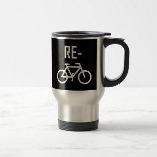 Caneca Térmica Bicicleta da bicicleta do reciclar