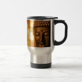 Caneca Térmica Buddha dourado