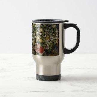 Caneca Térmica Buquê das flores em um vaso