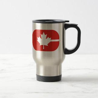 """Caneca Térmica """"C"""" é para Canadá"""