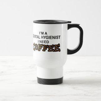 Caneca Térmica Café da necessidade - higienista dental