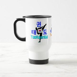 Caneca Térmica café marcial coreano do viagem de Arte-TaeKwonDo
