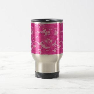 Caneca Térmica Camo cor-de-rosa