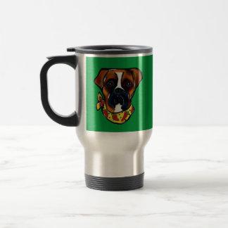 Caneca Térmica Cão Cinco de Mayo do pugilista