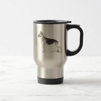 Caneca Térmica Cão de german shepherd