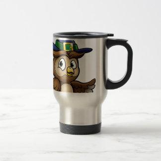 Caneca Térmica Caráter da coruja dos desenhos animados