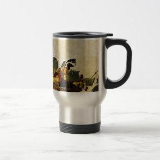 Caneca Térmica Caravaggio - cesta da fruta - trabalhos de arte