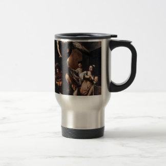 Caneca Térmica Caravaggio - os sete trabalhos da pintura do