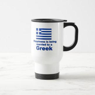 Caneca Térmica Casado feliz a um grego