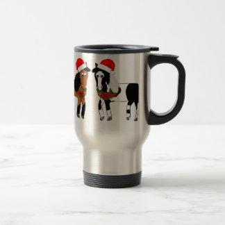 Caneca Térmica Cavalos do Natal
